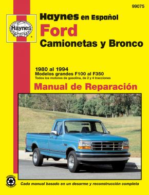 Ford Camionetas y Bronco Haynes Manual de Reparación: 1980 ... on air brake schematic, spray system schematic, truck suspension schematic, nfpa fire pump piping schematic, truck maintenance schematic, truck tool box schematic, trailer air lines schematic, truck engine schematic, truck axle schematic,
