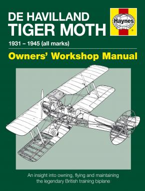 De Havilland Tiger Moth Manual (paperback)