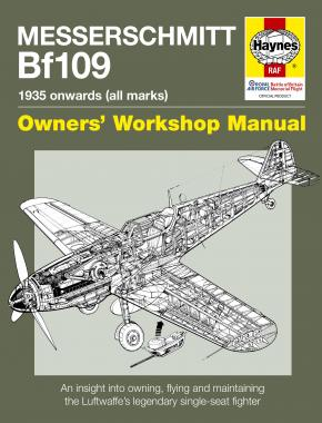 Messerschmitt Bf109 Manual (paperback)