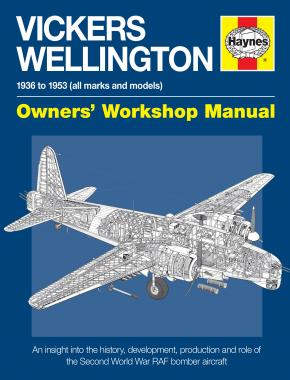 Vickers Wellington Manual (paperback)