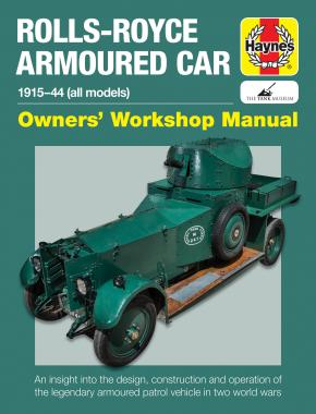 Rolls-Royce Armoured Car Owners' Workshop Manual