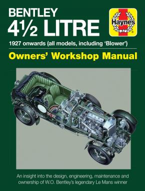 4.5-litre Bentley Owners' Workshop Manual