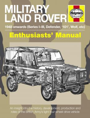 Military Land Rover Manual (Paperback)