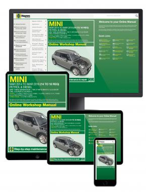 Mini Petrol & Diesel (Mar '14 - '18) Haynes Online Manual