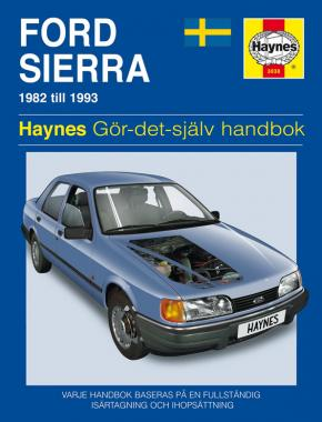 Ford Sierra (1982 - 1993) Haynes Repair Manual (svenske utgava)
