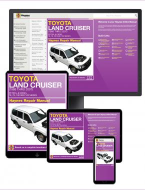 Toyota Land Cruiser 1998-2007 Haynes Online Manual