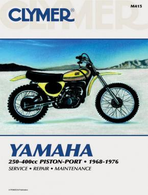 Yamaha 250-400cc Piston-Port Motorcycle (1968-1976) Service Repair Manual
