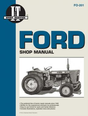 Ford Fordson Gasoline & Diesel Tractor Service Repair Manual