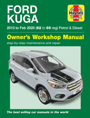Ford Kuga 2013 - Feb 2020 (62 to 69) Haynes Repair Manual