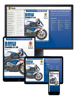 BMW S1000RR/R & XR (2010 to 2017) Haynes Online Manual
