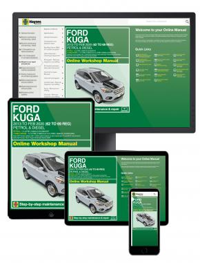 Ford Kuga 2013 - Feb 2020 (62 to 69) Haynes Online Manual
