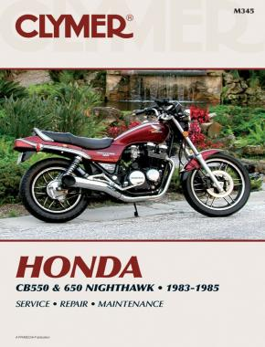 Honda CB550/650 Nighthawk Motorcycle (1983-1985) Service Repair Manual