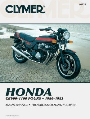 Honda CB900, CB1000, CB1100 Motorcycle (1980-1983) Service Repair Manual