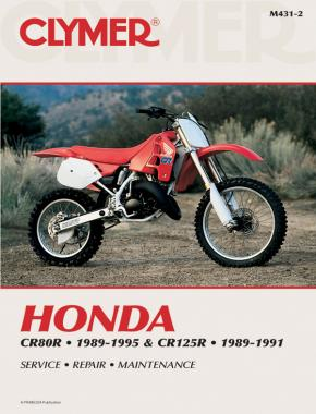 Honda CR80R (1989-1995) & CR125R (1989-1991) Service Repair Manual