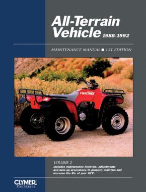 Honda Kawasaki Polaris Suzuki Yamaha All-Terrain Vehicle Volume 2 Service Repair Manual