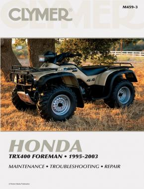 Honda TRX400 Foreman ATV (1995-2003) Service Repair Manual