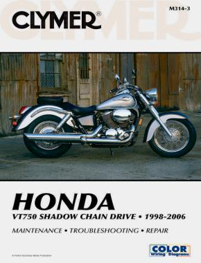 Honda VT750 Shadow Chain Drive Motorcycle (1998-2006) Service Repair Manual Online Manual