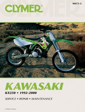 Kawasaki KX250 Motorcycle (1992-2000) Service Repair Manual Service Repair Manual