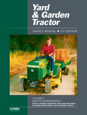 Proseries Yard & Garden Tractor Service Manual Vol. 2 Through 1990