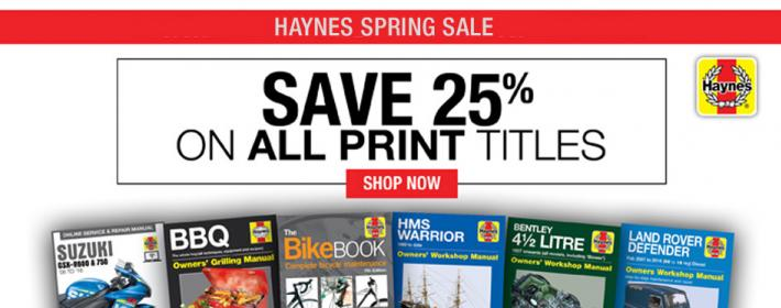 Home haynes publishing early spring sale fandeluxe