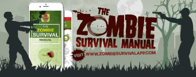 The Zombie Survival app