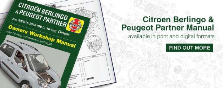 Citroen Berlingo & Peugeot Partner Manual