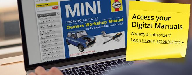 access your haynes digital manuals