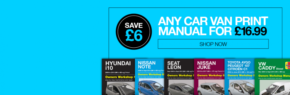 Save £6 on Print Manuals
