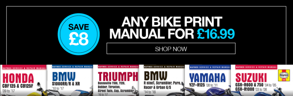 Save £8 on Print Manuals