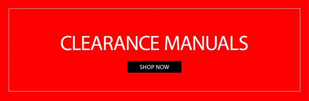 Clearance Manuals Offers