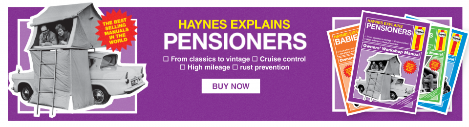 Haynes Explains - Pensioners