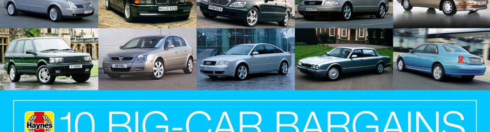 Metal for your money - 10 big-car bargains