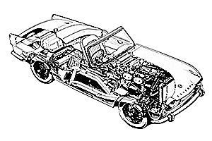 Triumph TR2 1953 - 1955