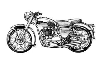 BSA A10 Twin 1949 - 1962