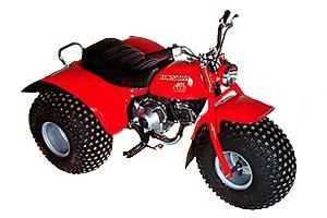 Honda ATC185 1981-1985