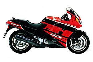 Honda CBR1000F 1987-1996