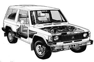 Mitsubishi L200 (1983 - 1994) Repair Manuals