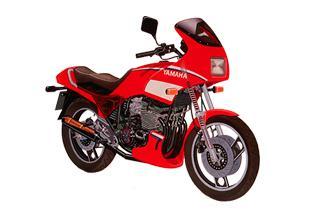 Yamaha XJ600 1984 - 1992