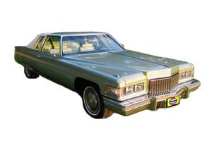 Cadillac Coupe DeVille 1970 to 1985
