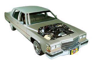 Cadillac Sedan DeVille 1970 to 1985