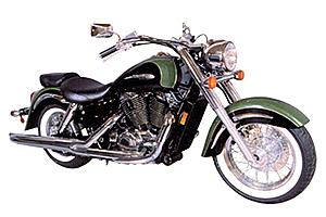 honda VT1100T Shadow Ace Tourer 1998-2001