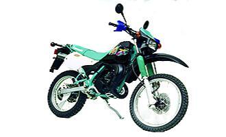 Kawasaki KMX200 1988 - 1992