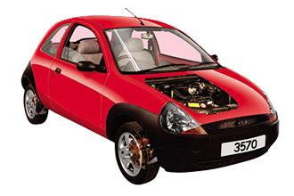 Ford Ka 1996 to 2002