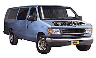 Ford E-350 Club Wagon 92 -14