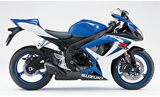 Suzuki GSX-R600 2006 to 2016