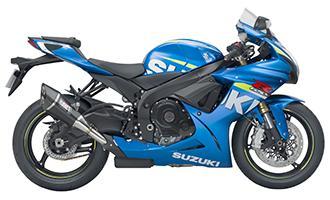Suzuki GSX-R750 2006 to 2016