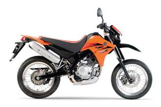 Yamaha XT125X 2005 to 2009
