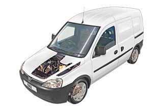 Vauxhall/Opel Combo Diesel Van 2001 - 2012