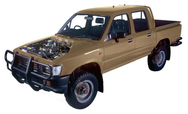 Toyota Hi Lux 4x4