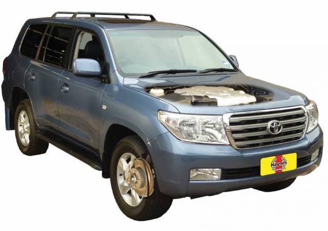 Toyota Land Cruiser 2007 on
